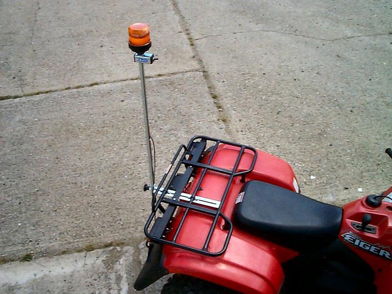 Kawasaki Atv And Mule Flashing Beacon Kits Farmeasy
